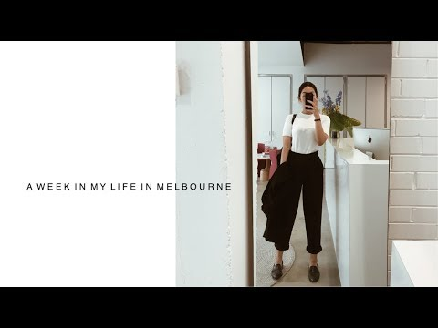A WEEK IN MY LIFE IN MELBOURNE | Interning, working at Mecca, VAMFF