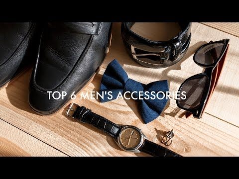 Top Six Accessories Every Guy Needs | Men's Fashion | Daniel Simmons
