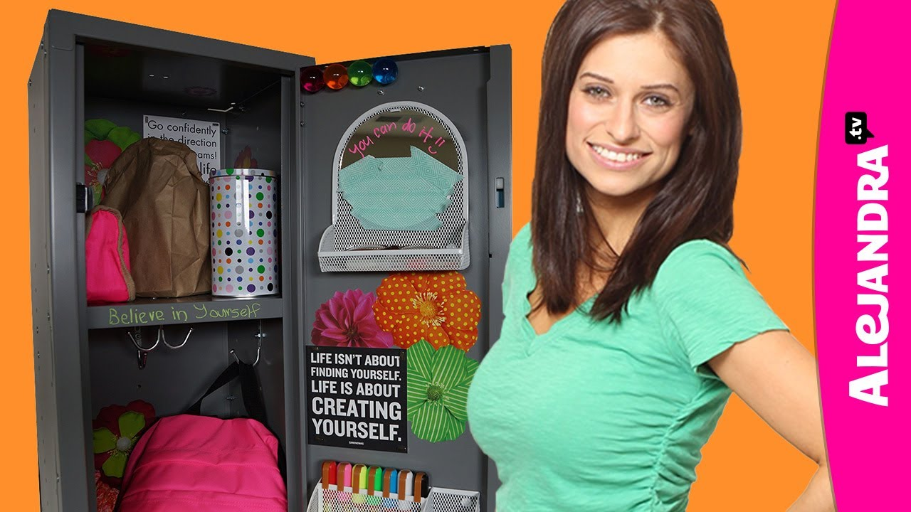 how to organize your locker locker organization decorating ideas youtube