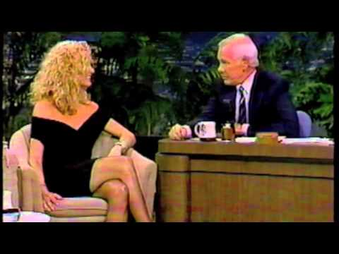 Farrah Fawcett on The Tonight : November 13, 1987