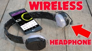 How To make Wireless Headphone Easily at home