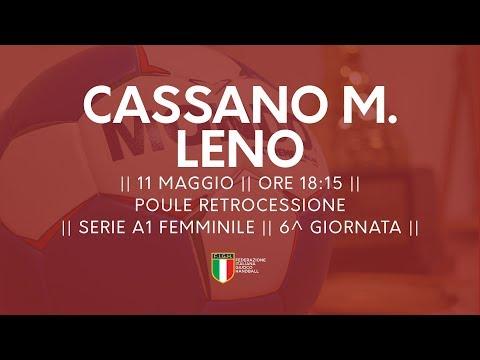 Serie A1F [6^ Poule Retrocessione]: Cassano Magnago - Leno 32-23
