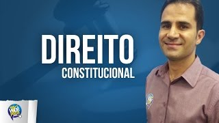 Direito Constitucional: Organização politico-administrativa da RFB - Parte 01/02..