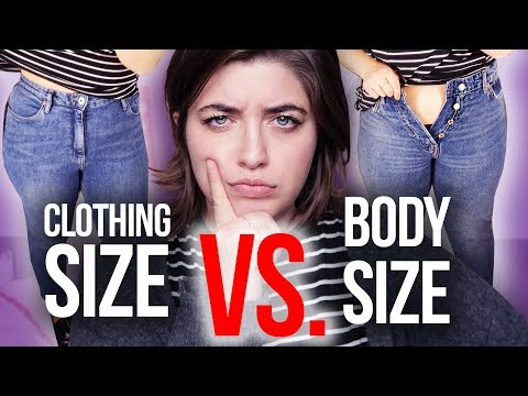 What is Vanity Sizing? Clothing Size VS Actual Body Size | HISSYFIT