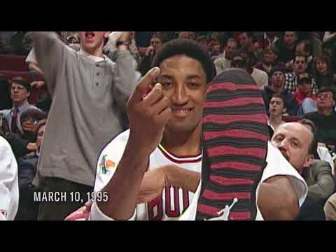 Scottie Pippen's attempt to convince MJ to come play basketball again