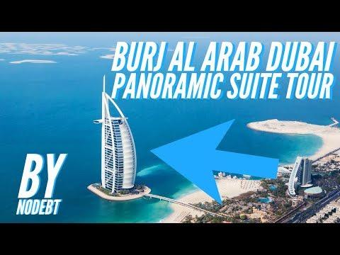 Burj Al Arab Dubai Panoramic Suite Tour