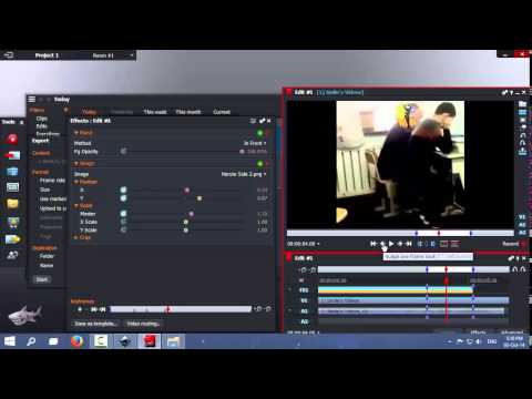How to put an image ( Cover Objects/Faces ) in a video - Lightworks Keying ( Image Key ) Tutorial from YouTube · Duration:  23 minutes 58 seconds