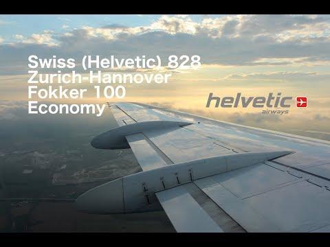 Flight Report: Zurich-Hannover Helvetic Fokker 100 Economy
