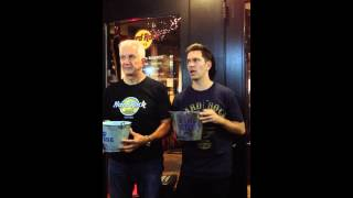 Andy Grammer Accepts The ALS Ice Bucket Challenge