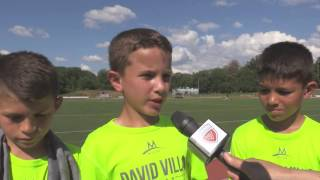 dv7 soccer academy s first camp in the u s