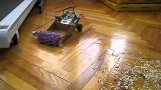 Lego Mindstorms EV3 Cleaning Bot