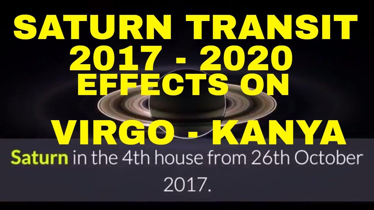 SATURN (SHANI) TRANSIT 2017- 2020 IN SAGITTARIUS, EFFECTS FOR VIRGO (KANYA  RASHI) MOON SIGN