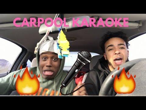 SUPER LIT CARPOOL KARAOKE ft. ULTIMATEDURAG !!!🎤🔥(RADIO BREAKS)