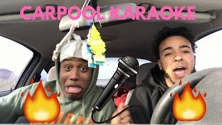 SUPER LIT CARPOOL KARAOKE !!!🎤🔥(RADIO BREAKS)