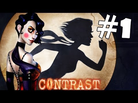 Contrast Walkthrough Part 1 Gameplay 1080p HD Lets Play Playthrough PC