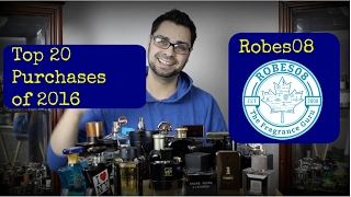 Robes08 Top 20 Purchases of 2016