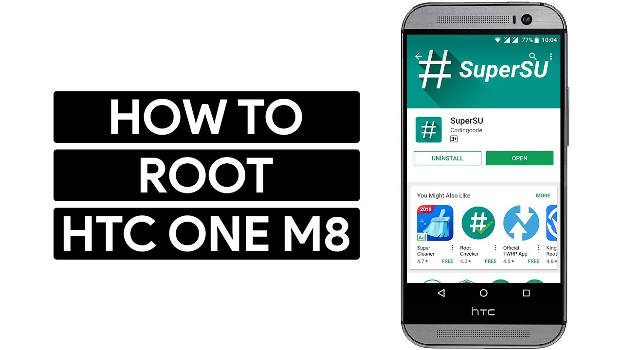 How to Unlock Bootloader, Install TWRP and Root HTC One M8 All Variants