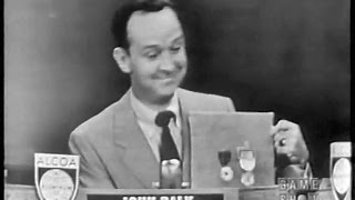 IT'S NEWS TO ME with John Charles Daly (Jul 20, 1952)