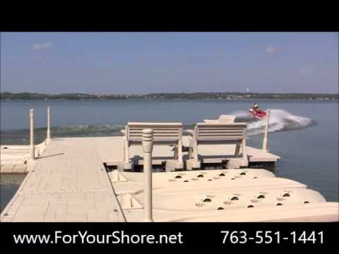 Top Rated PWC Port - Floating Drive on Jetski Dock Sales Minnesota