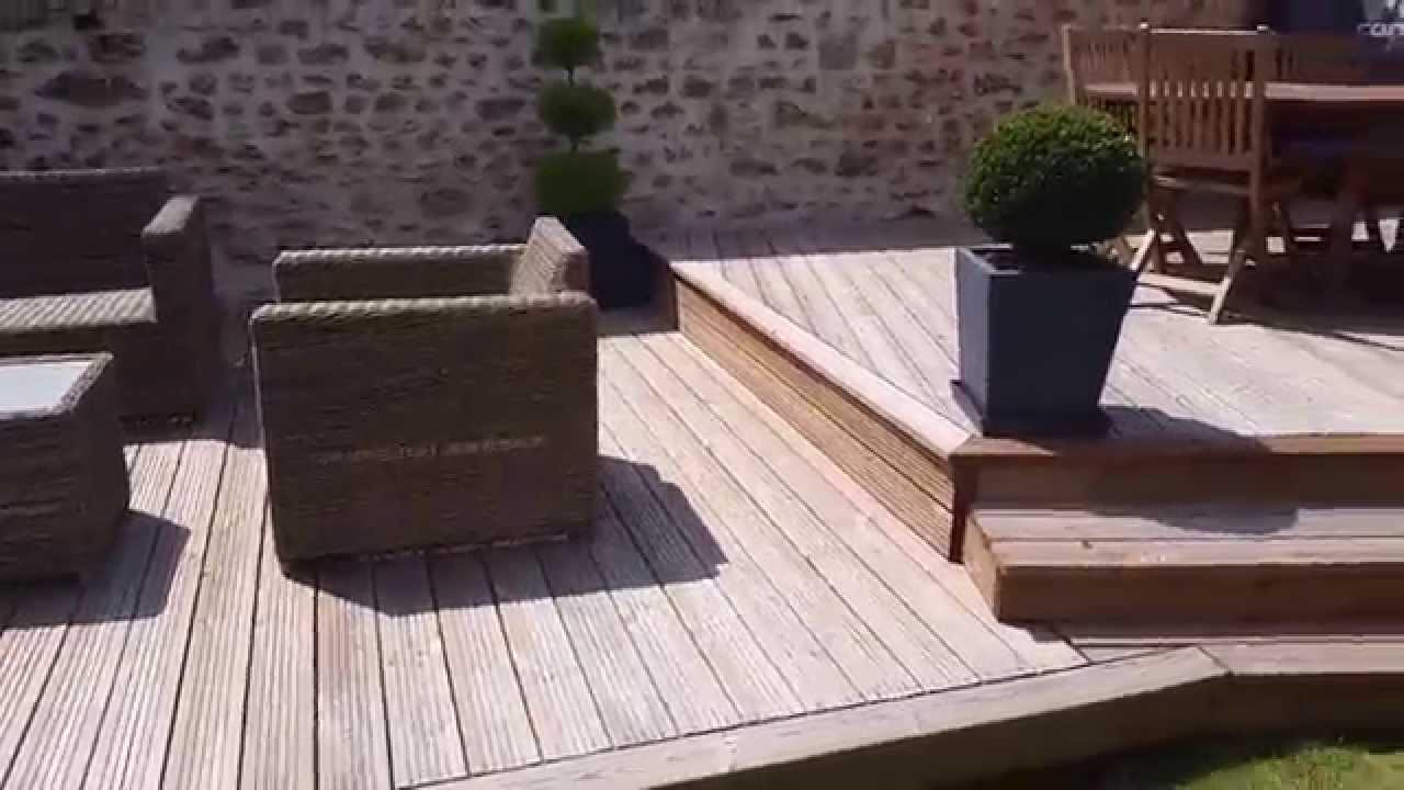 Traitement Terrasse Pin Autoclave terrasse bois en pin autoclave - youtube