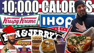10,000+ CALORIES ! | Cheat Day à New York (EASY!)