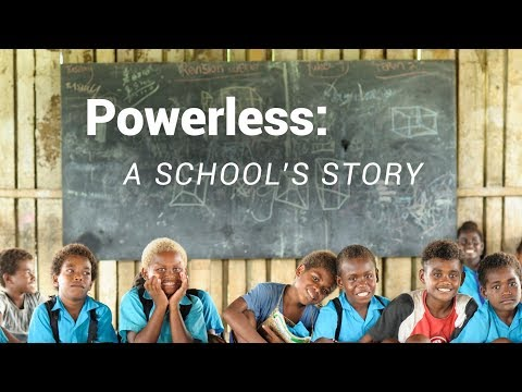 Solomon Islands – 'Powerless': the Betikama Story