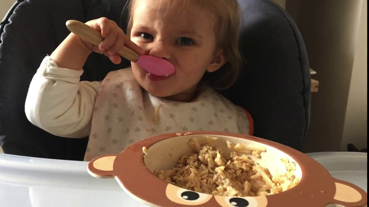 What vegan and raw foods I feed my 15 months old in a day