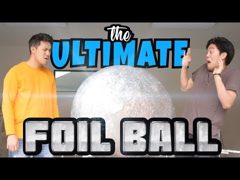 The Ultimate Foil Ball (definitely clickbait)
