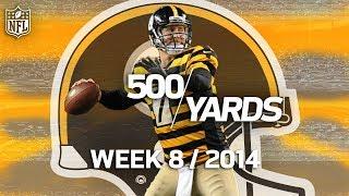 Ben Roethlisberger 500-Yard 6 TD Game vs. Colts (Week 8, 2014) | Flashback Friday | NFL Rush