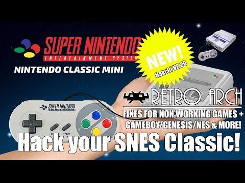 Hack your SNES Classic Mini   RetroArch Install