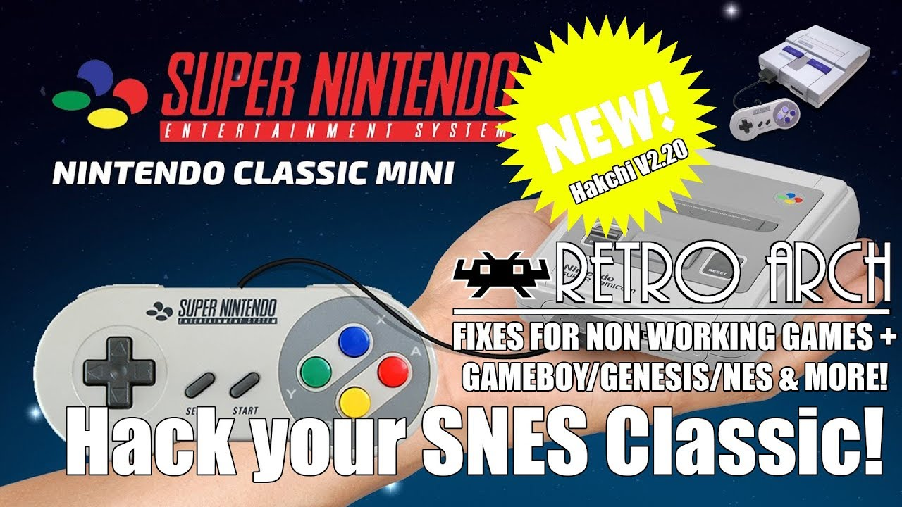 Hack your SNES Classic Mini | RetroArch Install