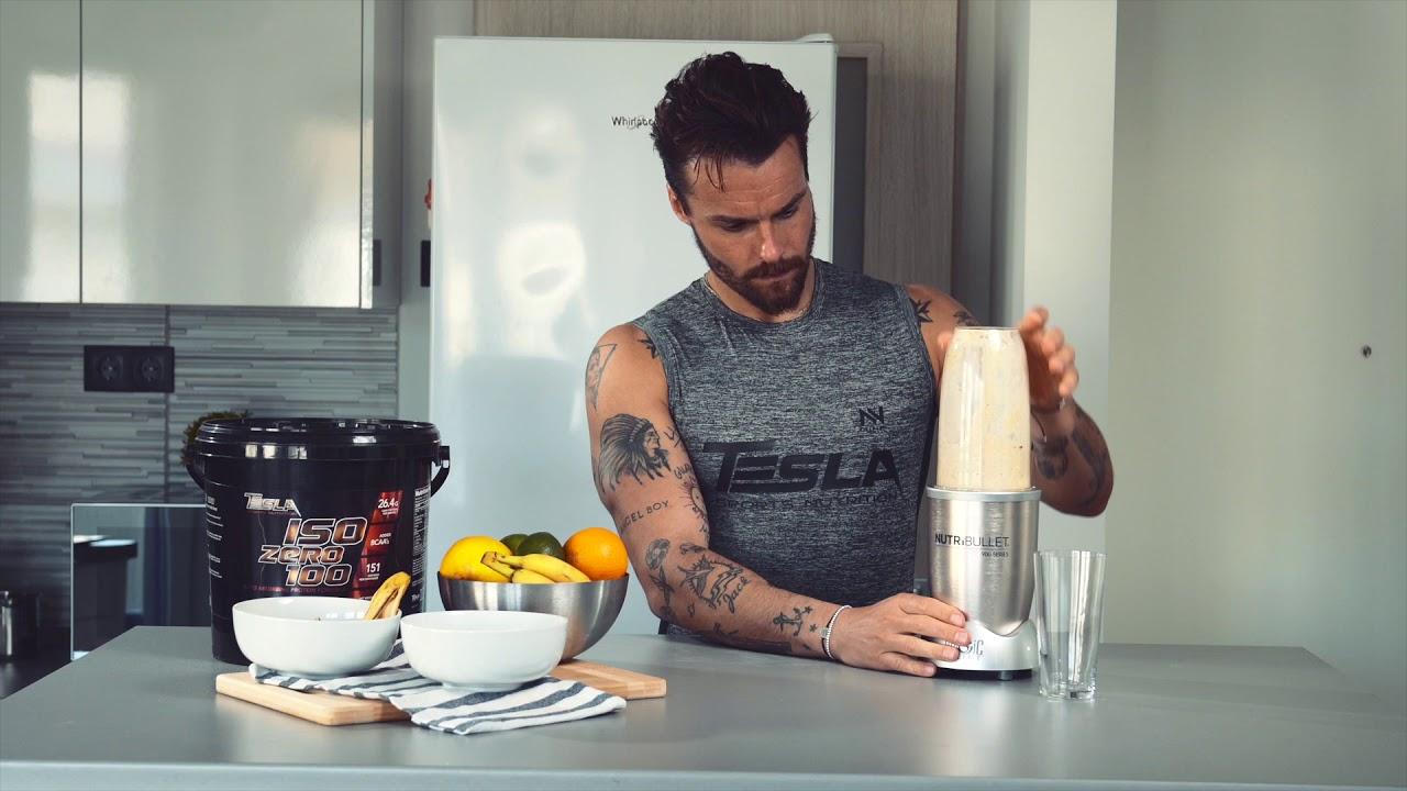 Tesla Healthy - Stracciatella Protein Shake