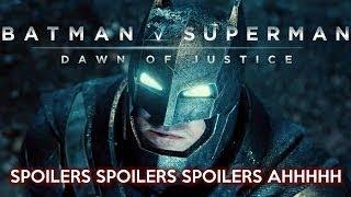 Batman v Superman: Dawn of Justice SPOILERS Review by Brandon Vander Hey
