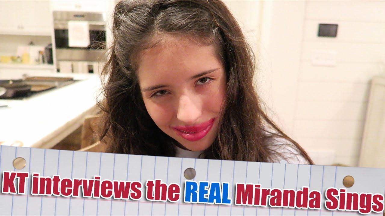 Kt interviews the real miranda sings youtube