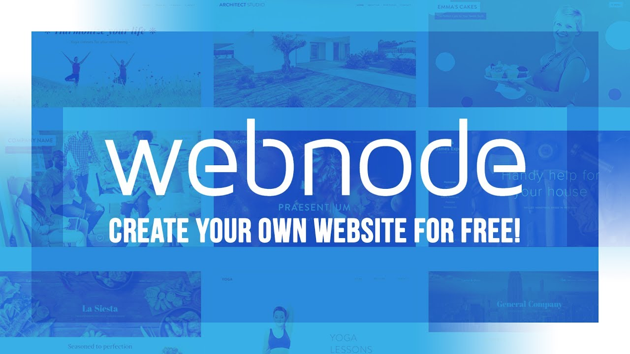 Make your Website with Webnode - YouTube