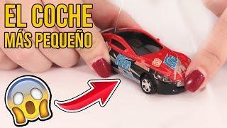 EL COCHE RADIO CONTROL MÁS PEQUEÑO DEL MUNDO!!!