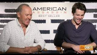 Michael Keaton & Dylan O'Brien - AMERICAN ASSASSINS - with Scott Carty