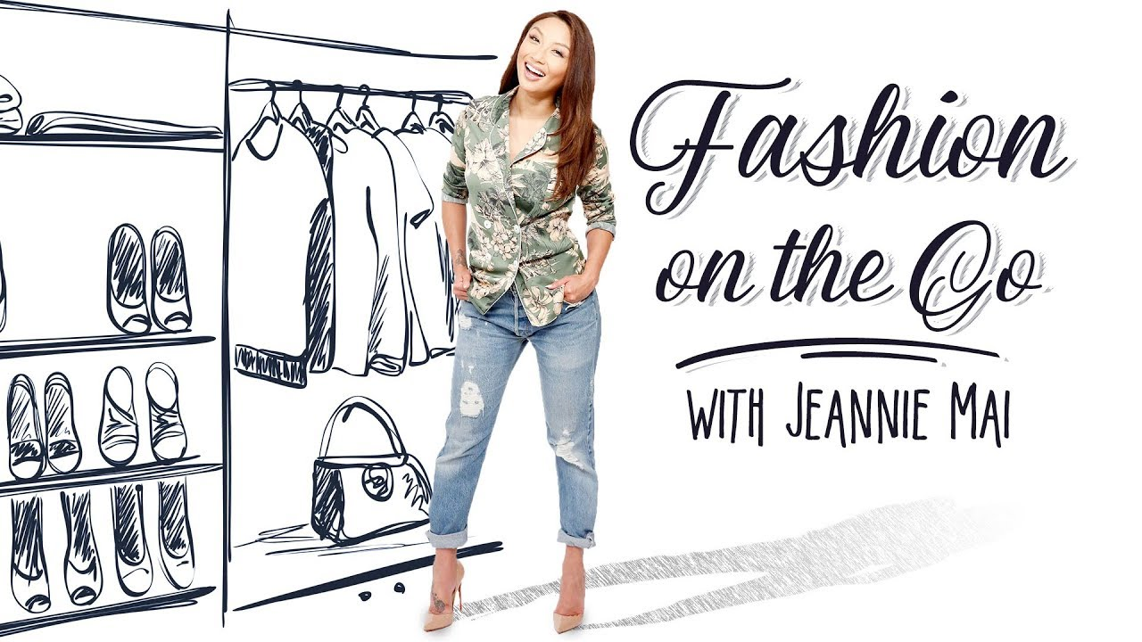WEB EXCLUSIVE: Fashion on the Go with Jeannie Mai!