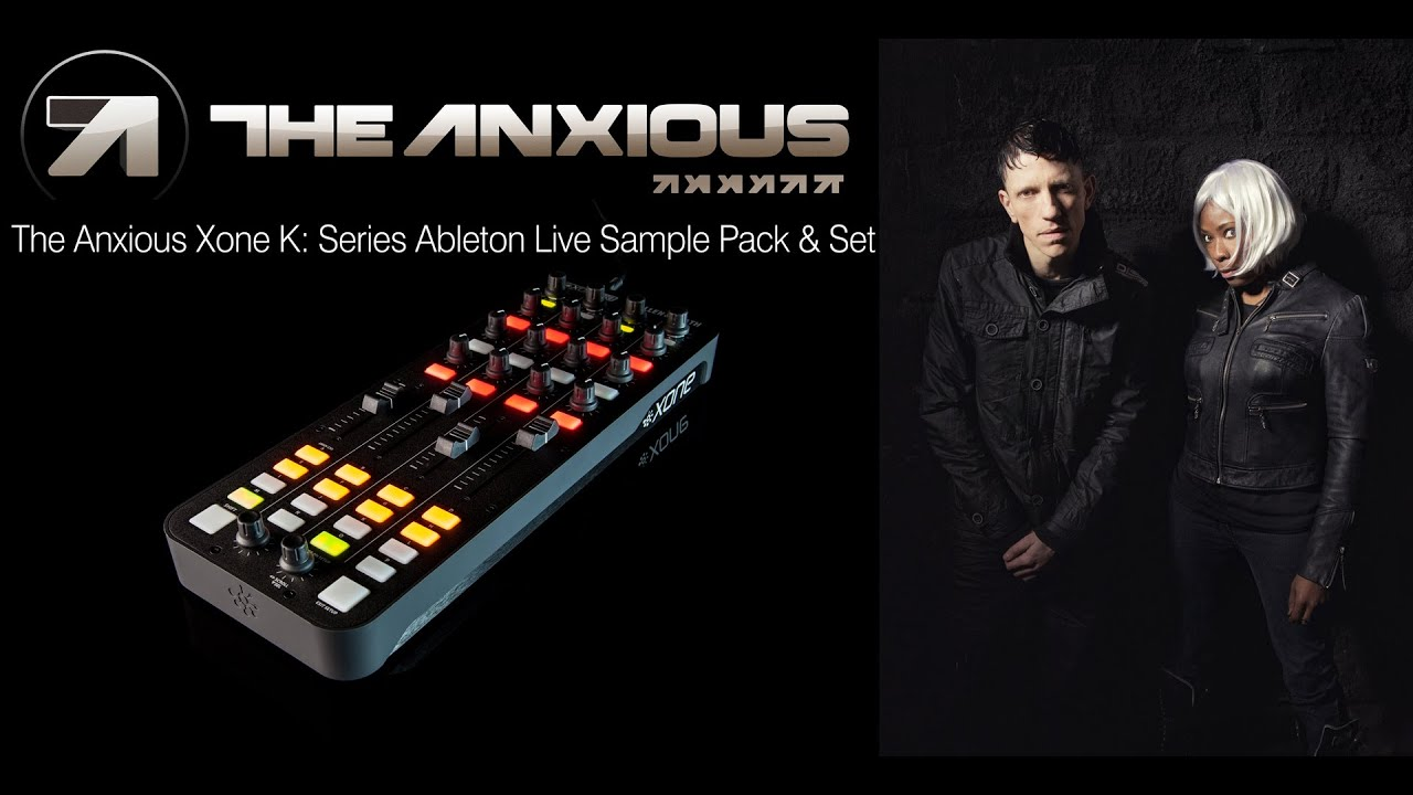 The Anxious K: Series Ableton Live Sample Pack & Set - YouTube