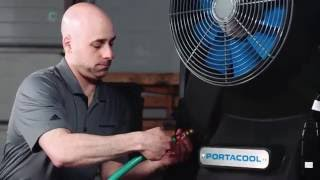 portacool faq service & support portacool frequently asked questions  setting up portacool evaporative coolers