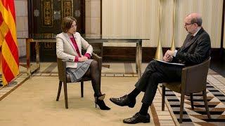 Entrevista d'Antoni Bassas a Carme Forcadell