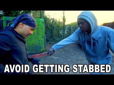 How to avoid getting stabbed
