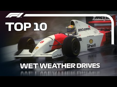 Top 10 Wet Weather Drives In F1
