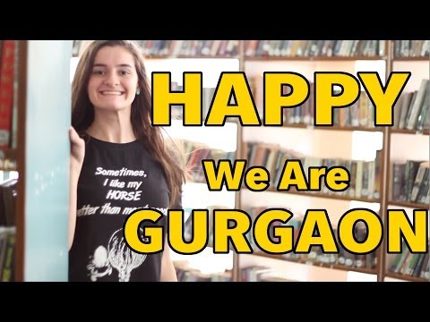 We Are GURGAON - HAPPY By Pharrell Williams (INDIA)