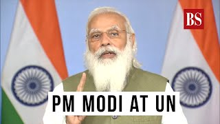 PM Modi at UN: India to restore 26 million hectares of degraded land by 2030