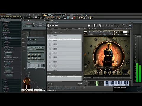 FL Studio - How to control on Midi CC Through MIDI Out plugin And create Automation from KONTAKT
