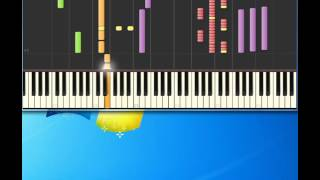 Buddy Holly   Raining In My Heart [Piano tutorial by Synthesia]