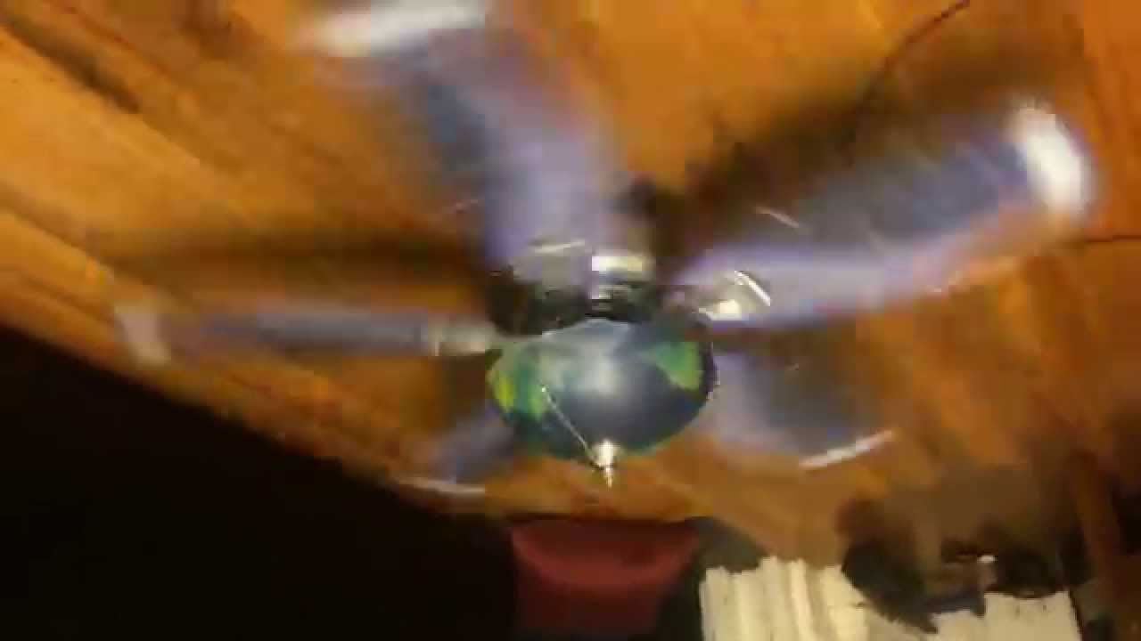 Hunter Discovery ceiling fan (space blades) - YouTube