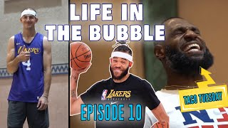Life in the Bubble - Ep. 10: TACO TUESDAYYYY with LeBron James & the Squad! | JaVale McGee Vlogs
