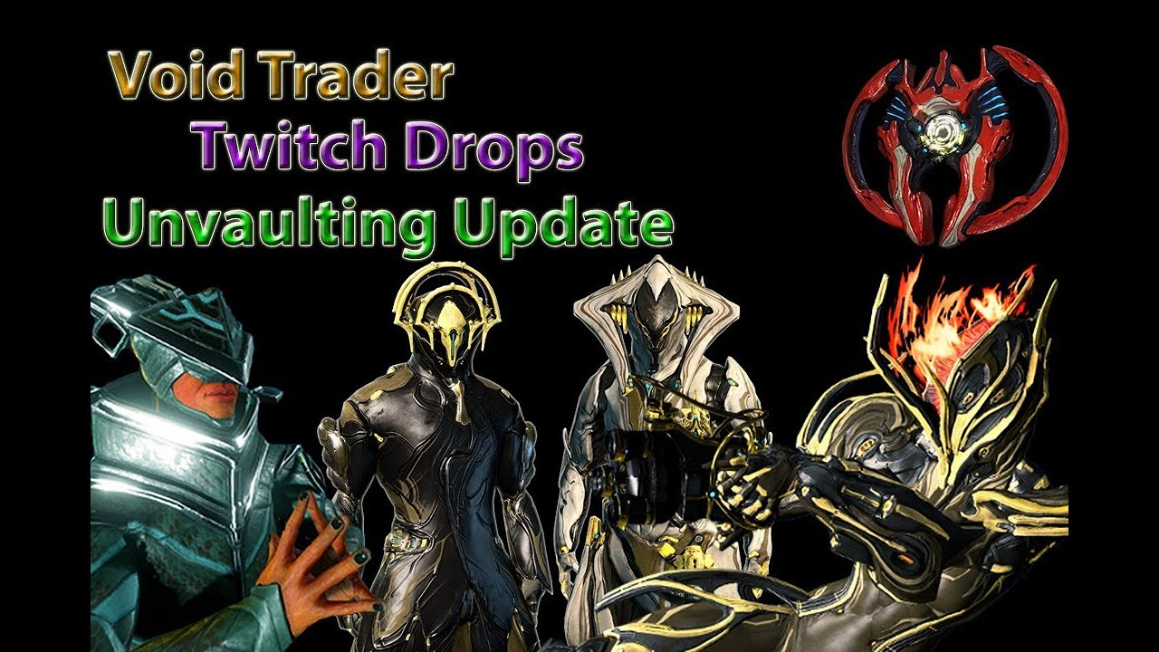 warframe  twitch drops  void trader